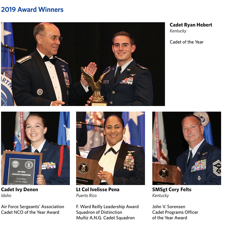 Special Cadet Program Awards Civil Air Patrol National