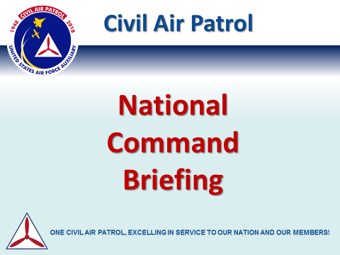 National Command Briefing