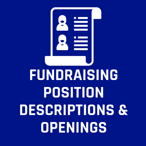 Fundraising Position Descriptions and National Staff Openings