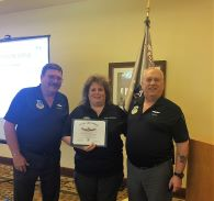 Lynda MacPherson received the CAP's Meritorious Achievement Award