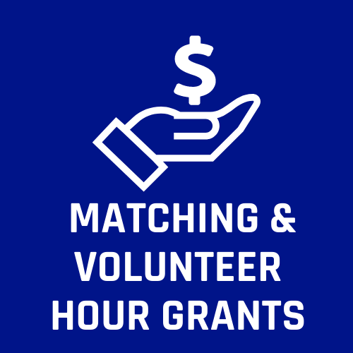 Matching and Volunteer Hour Grants
