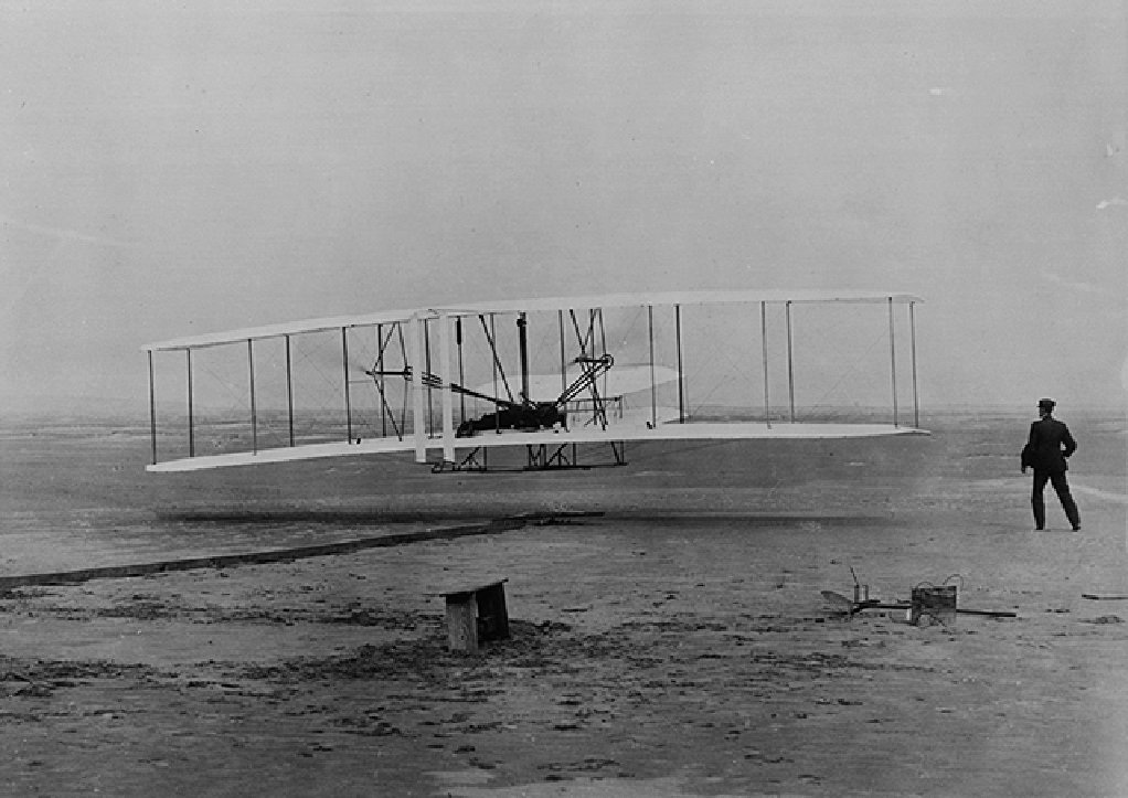 We applaud these aerospace pioneers, Orville and Wilbur Wright,