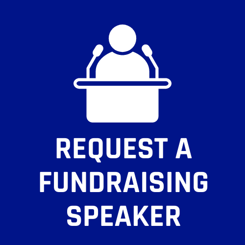 Request a Fundraising Speaker