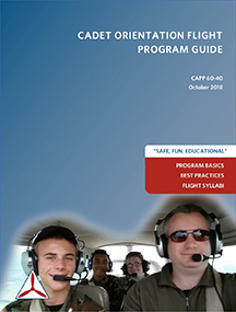 View post titled Cadet Orientation Flight Program Guide